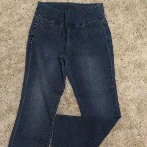Jag jeans, high rise, straight leg, 10 petite
